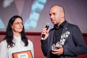 Jennifer und Simon Bitsche konnten sich im letzten Jahr über den Award freuen. Foto: Sams