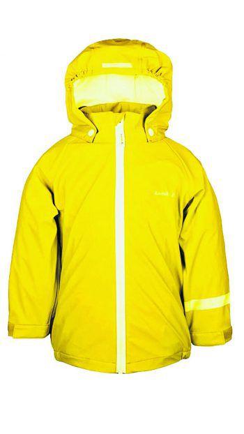 """<p class=""""caption"""">Kinder Matschbekleidung der Marke """"Kamik"""": Die Jacke gibt es um 34,99 Euro, die Hose um 24,99 Euro.</p>"""