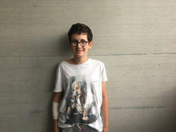 """<p>Laurenz, 14, Bregenz: """"Mir hat das das Sommercamp gut gefallen. Ich bekam hier einen Einblick, was ich sonst noch alles mit einem Computer machen kann. Ich will nächstes Jahr in die HTL Dornbirn gehen und bin deshalb beim ersten Modul des Code Base Camps dabei.""""</p>"""