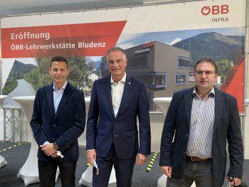 """<p class=""""caption"""">Markus Ender, Mario Leiter und Reinhard Stemer.</p>"""