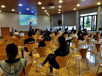 Morgen sowie am Dienstag finden noch Info-Veranstaltungen in der LBS Bludent sowie der LBS Feldkirch statt. Jetzt informieren!Fotos: Handout Markus Curin