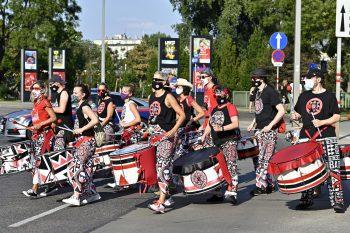 #savetherave: Aktivisten der IG Kultur marschierten im August für die Clubszene.Foto: APA