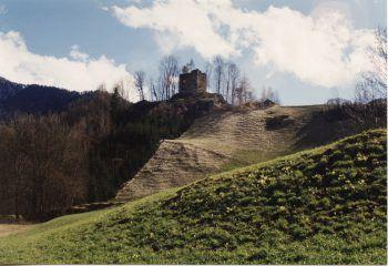 """""""Tatort"""" – die Ruine Ramschwag.Foto: Russmedia"""