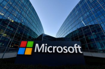 Technikprobleme bei Microsoft. Foto: AFP