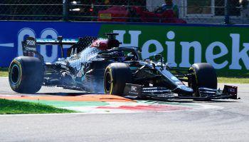 Topspeed: Lewis Hamilton verbesserte gestern den Rundenrekord in Monza.Foto:Reuters