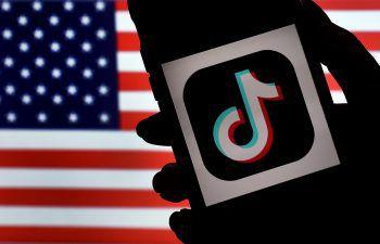 US-Präsident Trump verhängte ein Download-Verbot gegen TikTok und WeChat. Symbolfoto: AFP