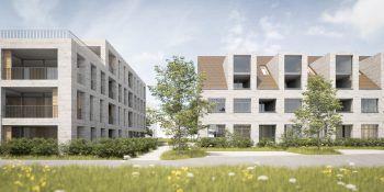 Wohnqualität auf hohem Niveau: Der Wiesenweg in Wolfurt verbindet eine attraktive Infrastruktur in ruhiger Lage. Fotos: handout/raumvier