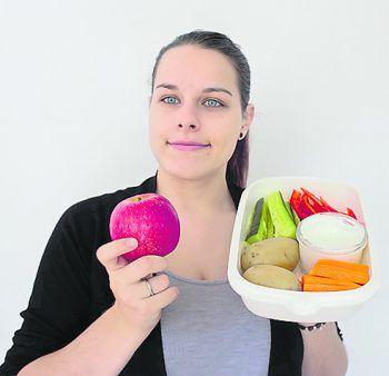 "<p class=""caption"">""An apple a day, keeps the doctor away"": Einsendung von Nadine aus Weiler.</p>"