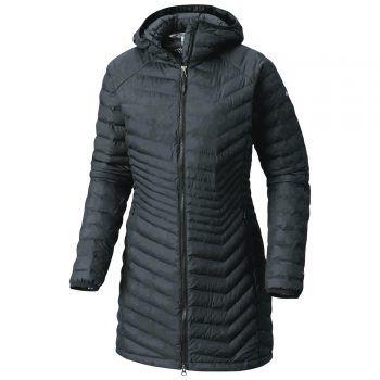 """<p class=""""caption"""">Der Damen-Thermomantel der Marke """"Columbia"""" hält im Winter schön warm. Erhältlich bei Panto Outdoor um 119,99 Euro.</p>"""