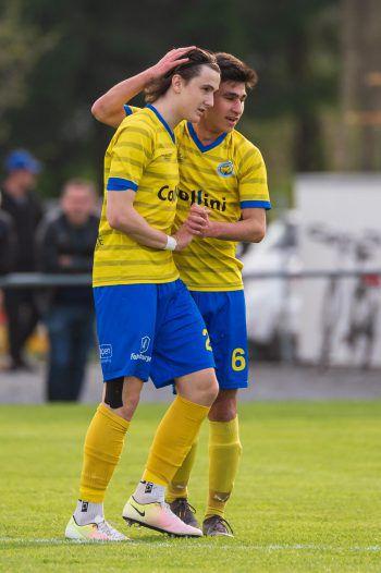 Jan Stefanon ließ Hohenems gegen Rotenberg doppelt jubeln.Symbolfoto: Stiplovsek