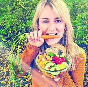 """<p class=""""caption"""">Jessica aus Dornbirn ist als Veganerin total begeistert von der Challenge. Fotos: handout/privat</p>"""