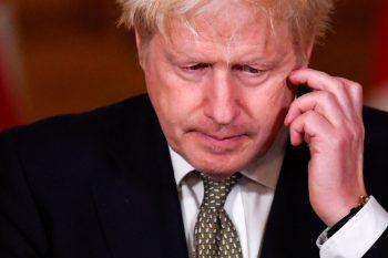 <p>London. Nachdenklich: Premier Boris Johnson vor einer Pressekonferenz. Die EU sieht kurz vor Ablauf eines britischen Ultimatums kaum Fortschritte in den Verhandlungen über einen Handelspakt mit London nach dem Brexit.</p>