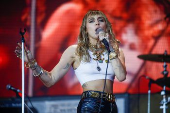 Pop-Sternchen Miley Cyrus. Foto: Reuters