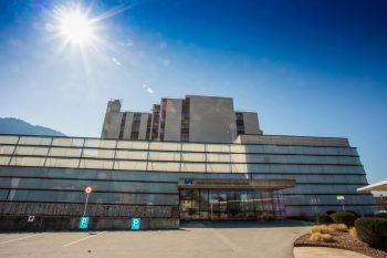 Auch im Landeskrankenhaus Hohenems sind alle Intensivbetten belegt. Symbolfoto: Paulitsch