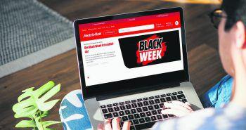 Black November Shopping Spaß ganz sicher – bei Österreichs Nummer 1. Foto: MediaMarkt