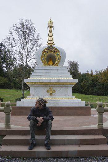 """<p class=""""title"""">               Buddhistisches Kloster             </p><p>""""Das buddhistische Kloster ist nicht weit weg von der Stadt und für mich eine besonderer Ort, um meine Energie wieder aufzuladen.""""</p>"""