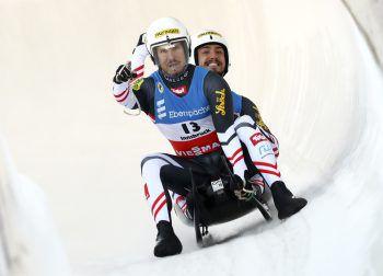 Der 26-jährige Bludenzer Thomas Steu und sein Tiroler Partner Lorenz Koller siegten vor dem 21-jährigen Yannick Müller aus Bludenz und Armin Frauscher. Fotos: APA