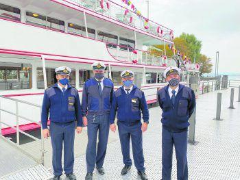 Die Crew der Vorarlberg Lines. Foto: Vorarlberg Lines