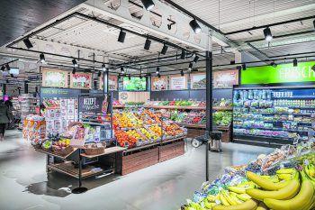 Die neue einladende Obst- und Gemüseabteilung. Foto: Sutterlüty