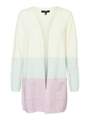 """<p class=""""caption"""">Die offene Strick-jacke mit den herbstlichen Farben gibt es bei Vero Moda ab 29,99 Euro.</p>"""