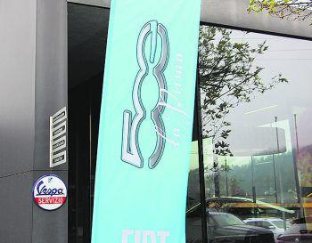 """<p class=""""caption"""">Die Präsentation des neuen Modells fand am Dienstag im Autohaus Rohrer statt.</p>"""