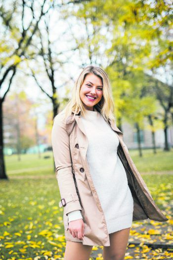 Angela war in Dornbirn unterwegs und findet den Inatura-Garten im Herbst besonders schön. Foto: Sams