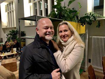 """<p class=""""caption"""">Harald Künzle und Mercedes Welte.</p>"""