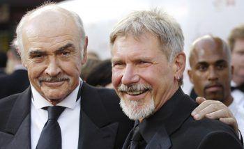 Legenden und gute Freunde: Sean Connery und Harrison Ford. Foto: APA