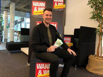 Lukas aus Sulzberg ist dank WANN & WO und ImmoAgentur nun 200 Euro reicher. Nutz auch du deine Chance und sicher dir für das nächste Jahr einen Wohnzuschuss im Wert von 200 Euro! Foto: privat