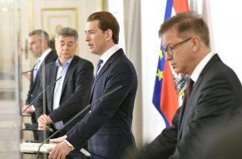Österreich steht seit gestern weltweit an erster Stelle, was die Zahl an Neuinfektionen betrifft. Die Bundesregierung verkündete gestern den harten Lockdown.Foto: APA