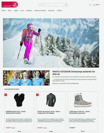 """<p class=""""caption"""">Panto Outdoor hat seit Kurzem einen Online Shop. Jetzt vorbeischauen und bei der Nikoloaktion sparen! Fotos: handout/Panto Outdoor</p>"""