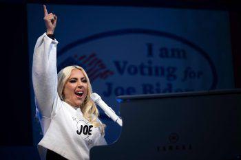 Pittsburg. Richtungsweisend: In der Nacht auf heute fiel die Entscheidung in der US-Wahl – Lady Gaga hatte ihren Favoriten.