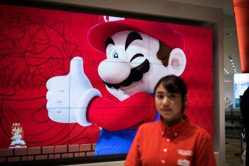 Super Mario boomt im Corona-Jahr. Foto: AFP