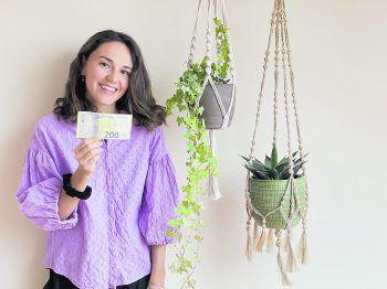 """Anna aus Dornbirn: """"Ich möchte das Geld nutzen, um mir noch mehr Pflanzen zu kaufen, für bessere Luft und ein gutes Raumklima!"""""""