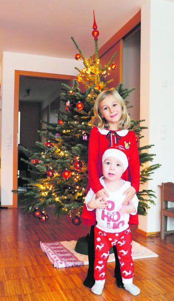 Bereit für Weihnachten! Eine Einsendung von Sarah.