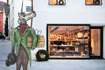 Das Einhorn soll zum allseits bekannten Maskottchen der Stadt Bludenz avancieren.