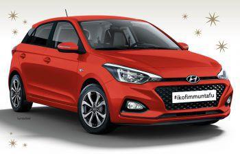 Der nagelneue Hyundai i20 ist der Hauptpreis des Adventgewinnspiels der WIGE Montafon. Jetzt regional einkaufen und Lose erhalten.