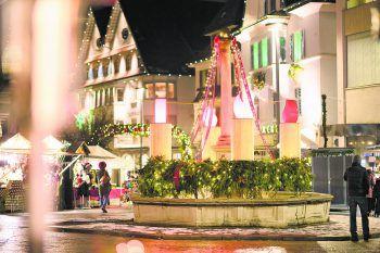 Die Dornbirner Innenstadt wird auch heuer wieder weihnachtlich geschmückt – ein Highlight für alle Besucher.Fotos: handout/Dornbirn Tourismus; Matthias Rhomberg