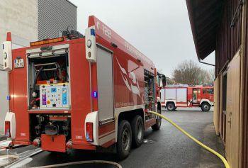 Die Feuerwehr rückte mit 30 Einsatzkräften aus.Foto: VOL.AT/Vlach