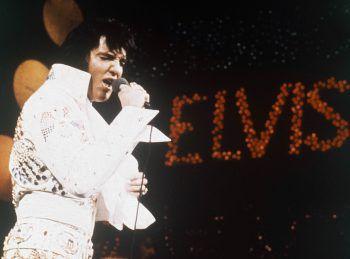 """Elvis PresleyKaum zu glauben, aber der """"King Of Rock"""" konnte zeit-lebens keine Noten lesen. Elvis soll nur nach seinem Gehör gearbeitet und gerne improvisiert haben. War dies vielleicht sein Erfolgsgeheimnis? Foto. AP"""