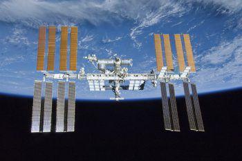 Zwischenfall im Weltraum.Foto: NASA/AP