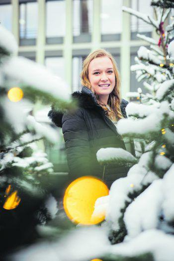 Amanda war in Götzis unterwegs und konnte sich schon von der weihnachtlichen Stimmung am Garnmarkt verzaubern lassen.