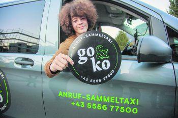 """Im Montafon sicher nach Hause kommen? Kein Problem, denn das Anruf-Sammeltaxi """"go&ko"""" steht für alle bereit!Foto: Meznar Media"""