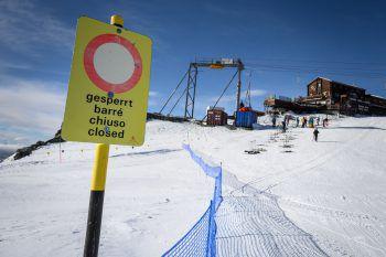 Immer mehr Schweizer Kantone schließen nun auch ihre Ski-Gebiete.Symbolfoto: AFP