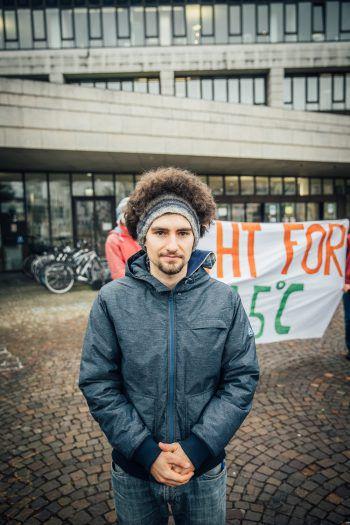"""Nachhaltig zu leben, war für den 24-jährigen Dornbirner Johannes Hartmann nicht genug. Um wirklich etwas bewegen zu können, engagiert er sich deshalb aktiv bei der Umweltbewegung """"Fridays For Future"""" Vorarlberg."""
