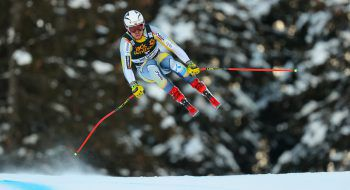 Norweger im Anflug: Aleksander Aamodt Kilde raste der Konkurrenz davon. Foto: GEPA