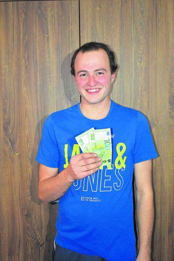 Patrick aus Rankweil ist der nächste Gewinner des von WANN & WO und ImmoAgentur präsentierten Gewinnspiels WANN & WOhngeld.