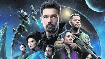 The Expanse – Staffel 5Prime, Serie, Science-Fiction. Im Sonnensystem verstreut müssen sich die Crew der Rocinante und ihre Verbündeten den Sünden ihrer Vergangenheit stellen, während Marco Inaros einen Angriff entfesselt, der die Zukunft von Erde, Mars, dem Gürtel und den Welten jenseits des Rings verändern wird. Ab heute abrufbar.