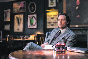 """<p class=""""title"""">The Gentlemen</p><p>Film, Action. In Guy Ritchies starbesetztem Film plant Marihuanaboss Mickey Pearson (Matthew McConaughey) aus dem Business auszusteigen und sucht einen Käufer für seine Plantagen. Ab 24. Dezember.</p>"""