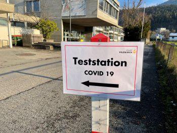 208.112 Corona-Tests wurden bislang mit Stand gestern, 17 Uhr, in Vorarlberg durchgeführt.Symbolfoto: Russmedia